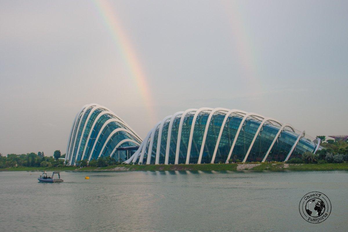 Greenhouses - attractions around marina bay