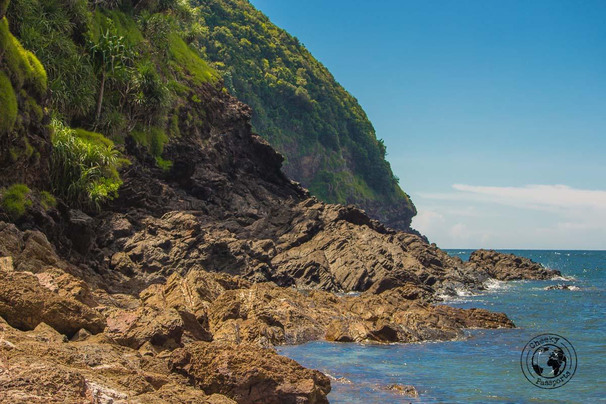 The east side of - Kapas island, Pulau Kapas