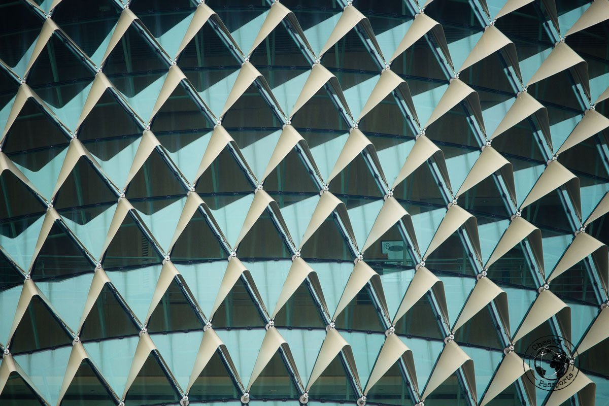 Esplanade detail - 3 days in Singaore