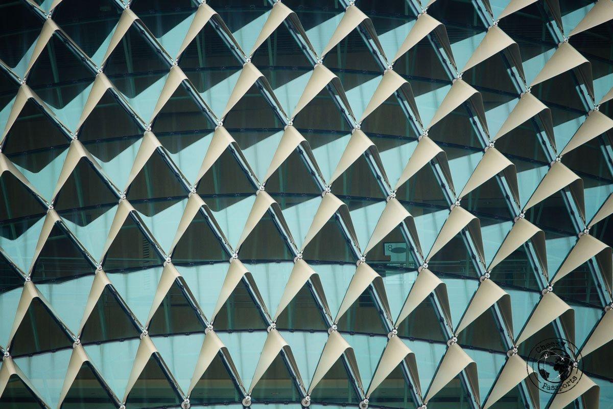 Esplanade detail - 3 days in Singaore