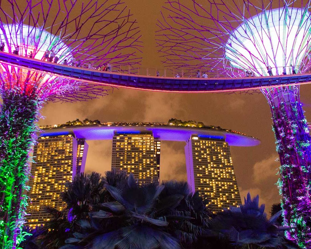 Tourist Attractions Around Marina Bay, Singapore