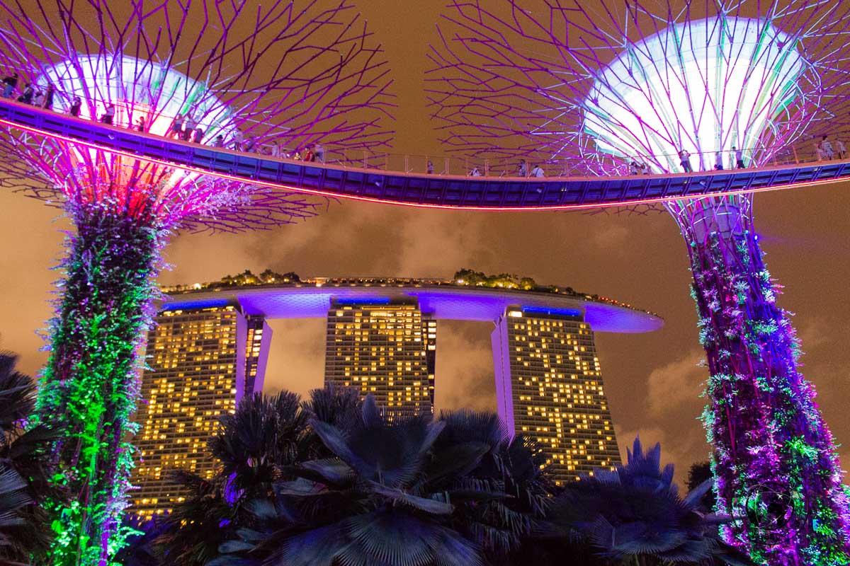 Tourist Attractions Around Marina Bay, Singapore