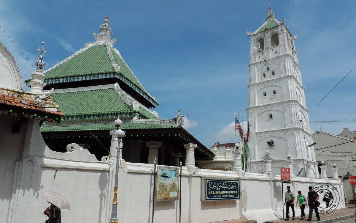 Kampung Kling Mosque - Things to do in Melaka