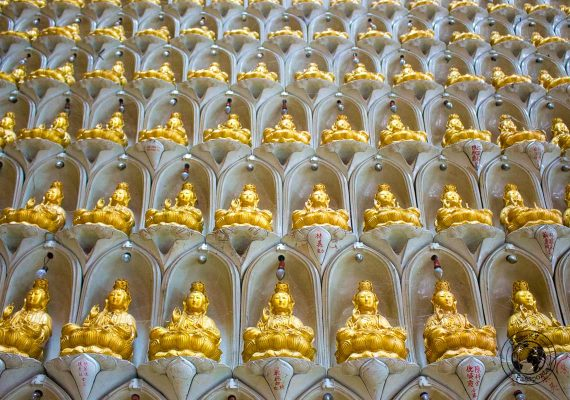 Kek Lok Si Temple buddhas - things to do in Penang