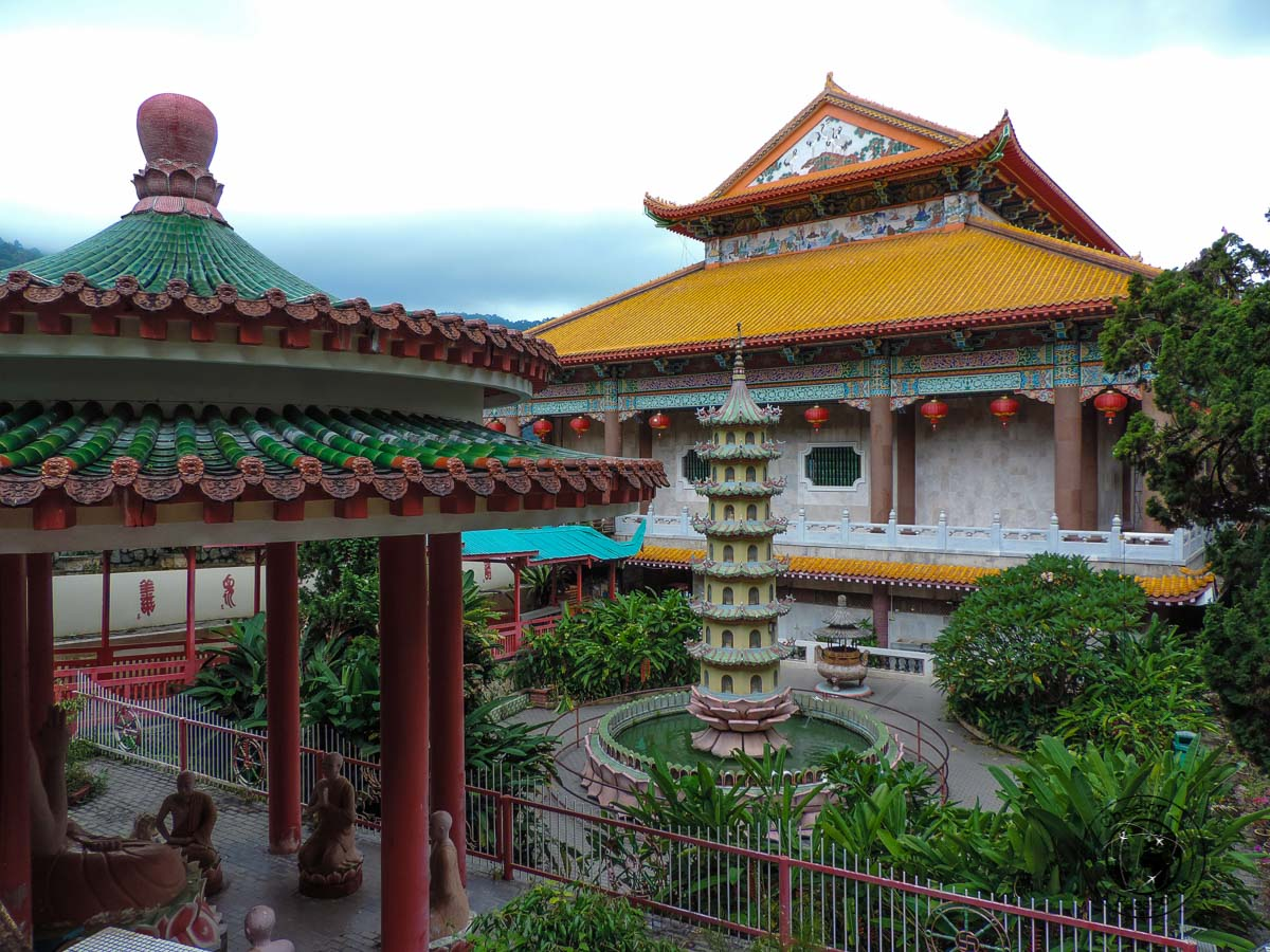 Kek Lok Si Temple view - things to do in Penang