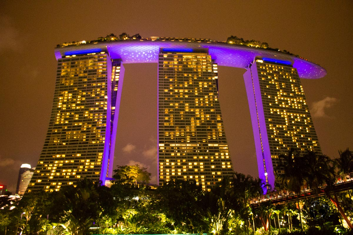 Marina Bay Resort - 3 days in Singapore