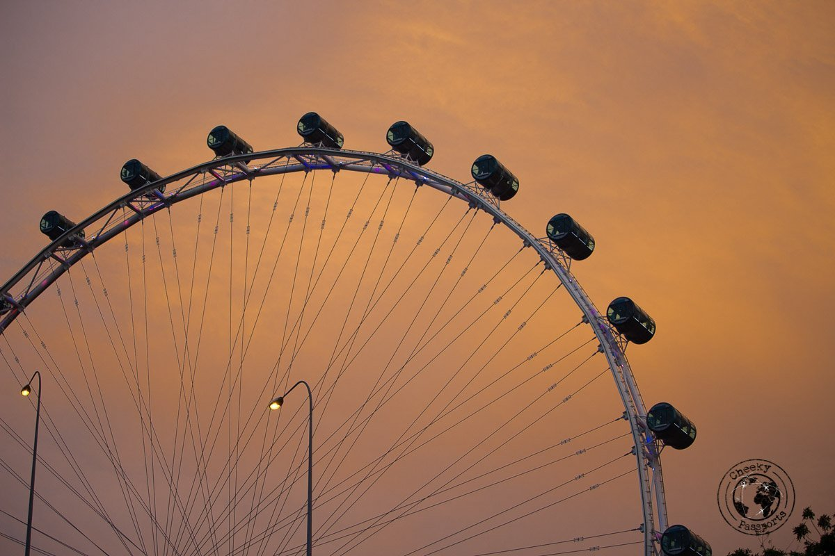 Marina Flyer - attractions around marina bay