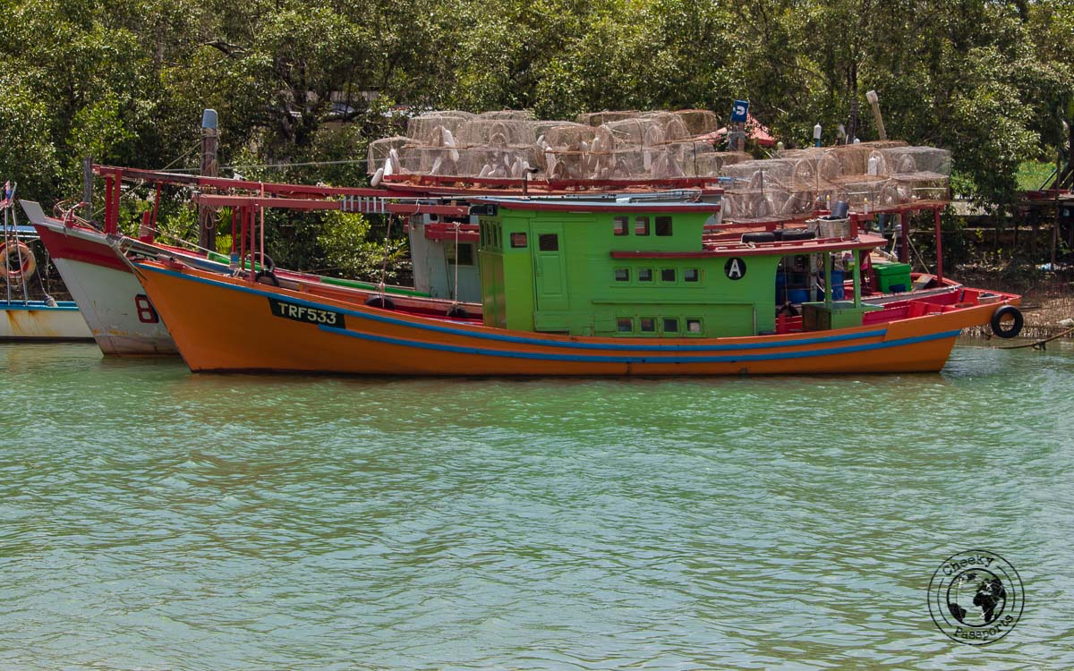 Mersing Port - Beaches, Monkeys and Jungle treks on Tioman Island - Pulau Tioman