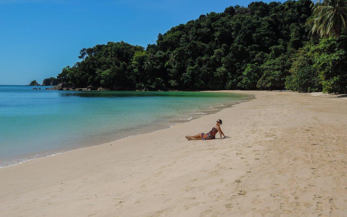 Michelle posing at - Kapas island, Pulau KapasMichelle posing at - Kapas island, Pulau Kapas
