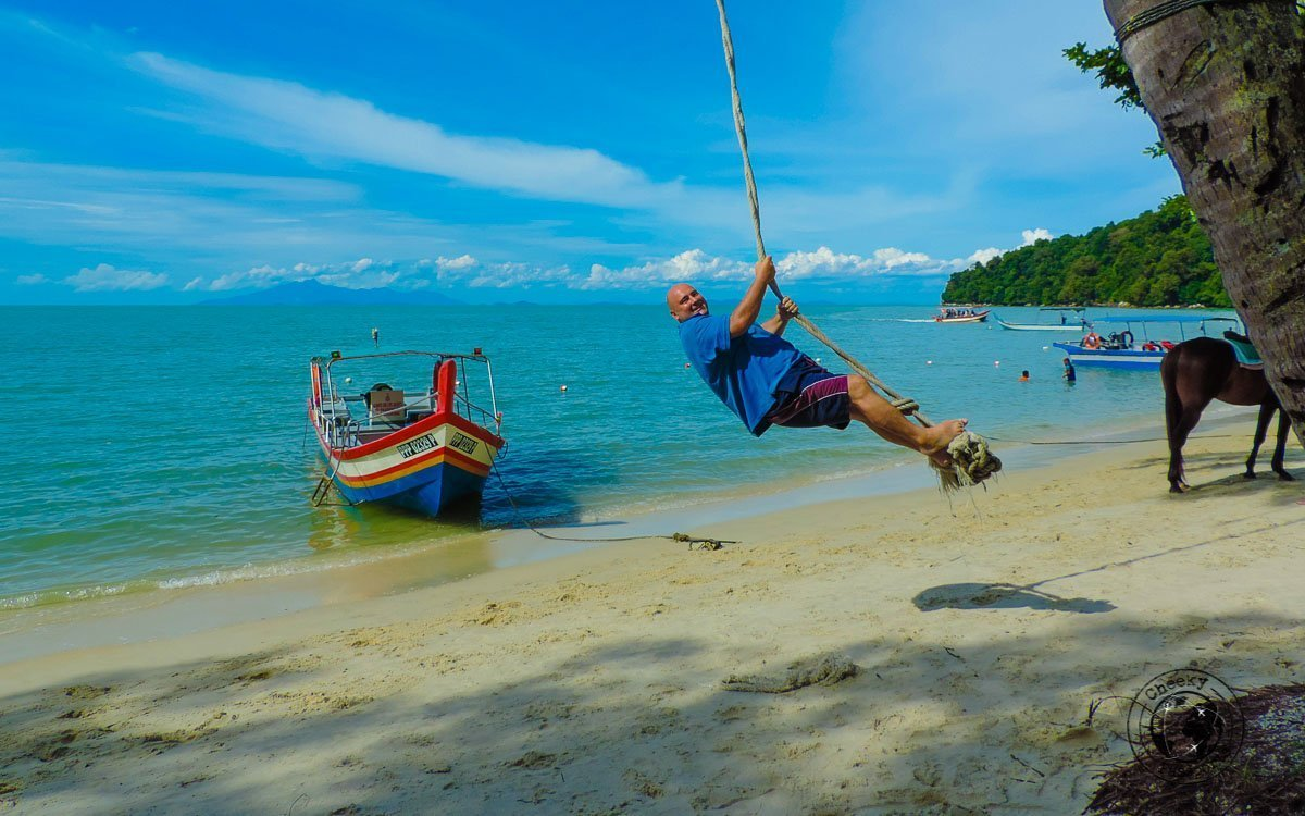 Monkey beach Nikki - Where to stay in Malaysia - THings to do in Penang