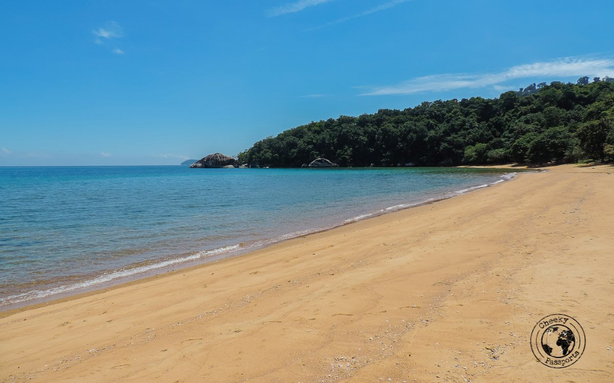 Red sands at Monkey Beach - Beaches, Monkeys and Jungle treks on Tioman Island - Pulau TiomanWhere to stay in Malaysia -