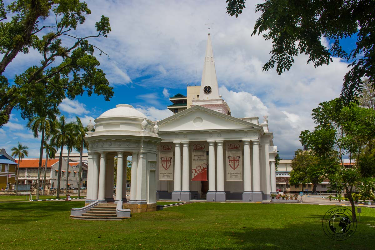 St George's Church - things to do in Penang