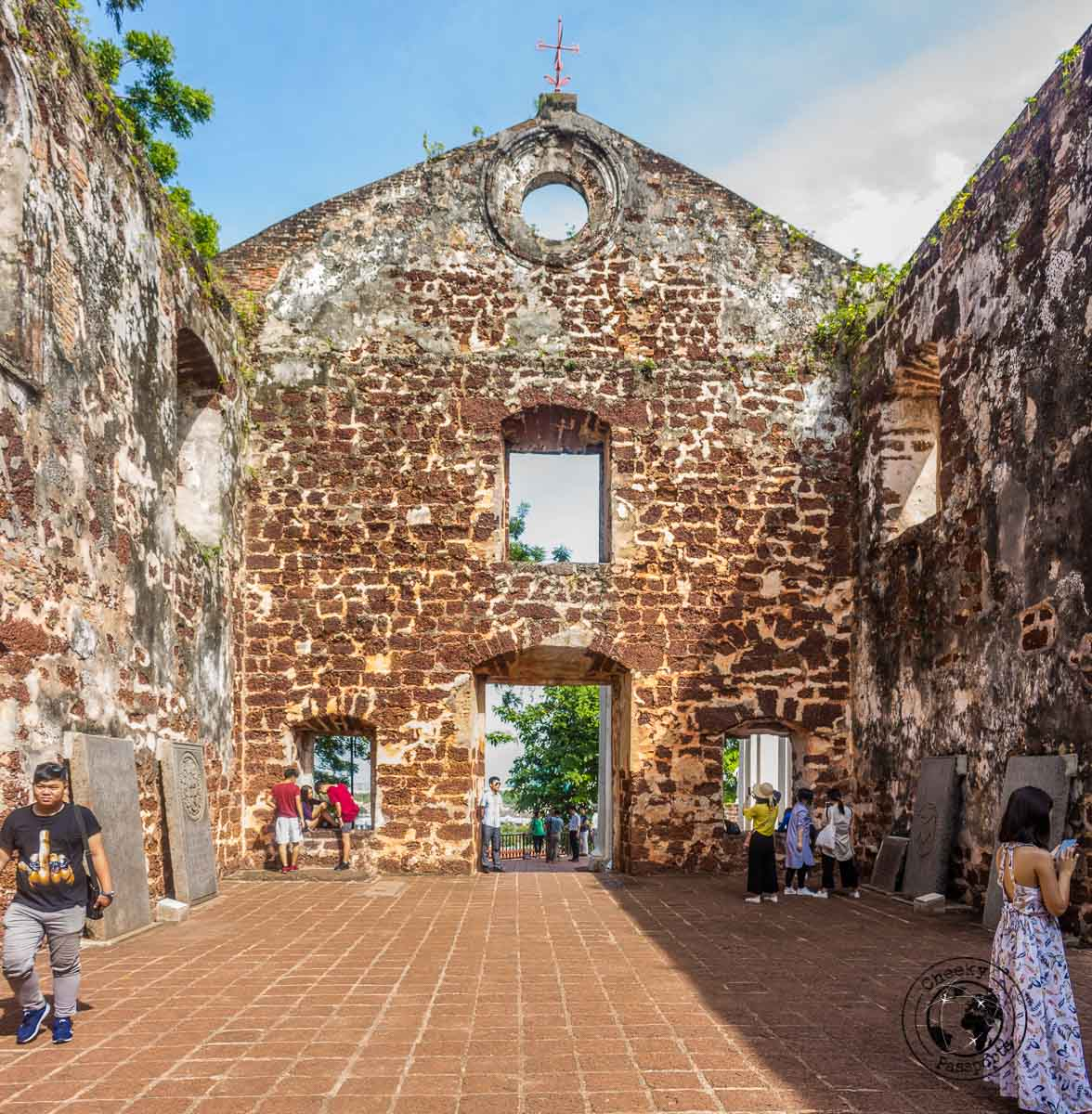 St. Paul's Church - Things to do in Melaka