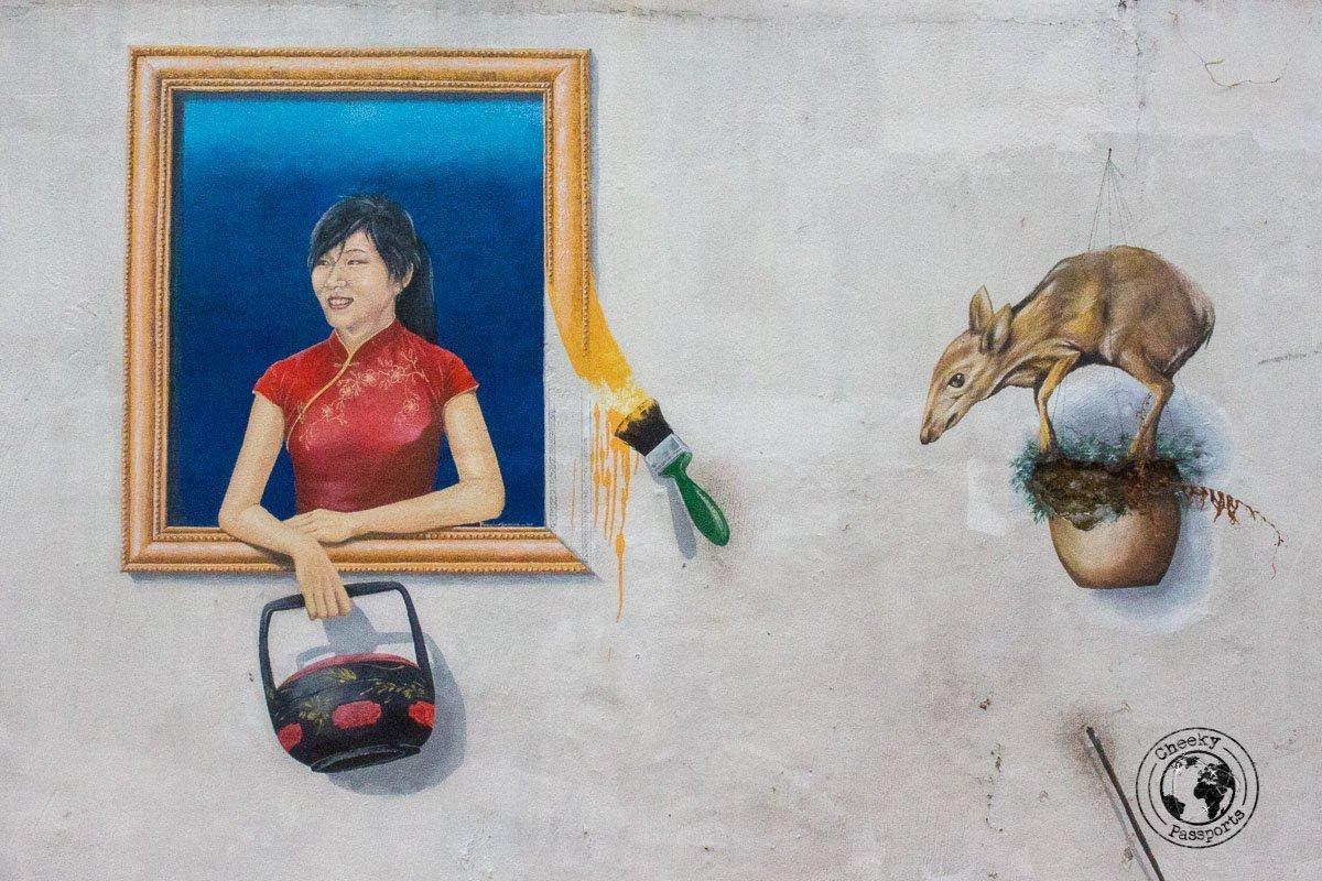 Street Art - Things to do in Melaka