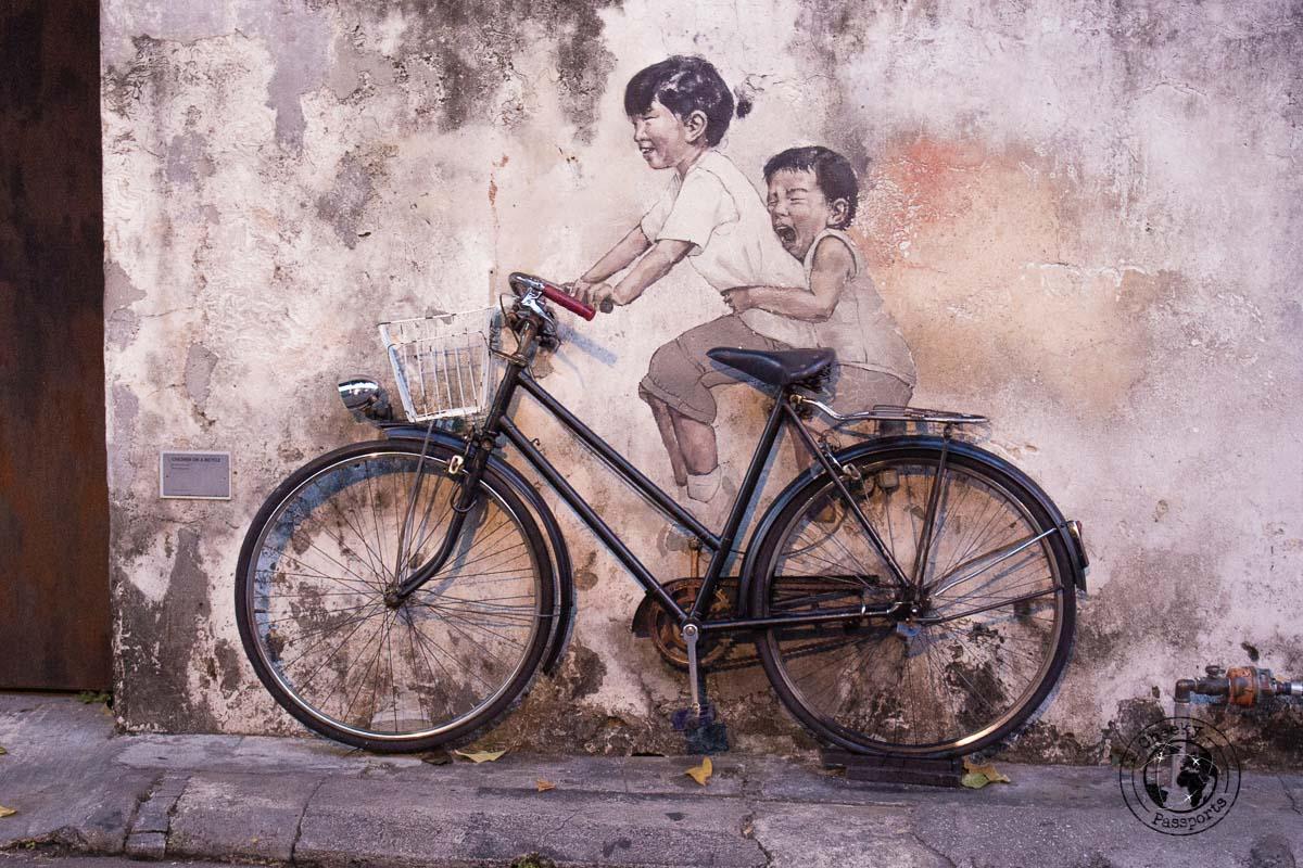 Street Art of Georgetown - things to do in Penang