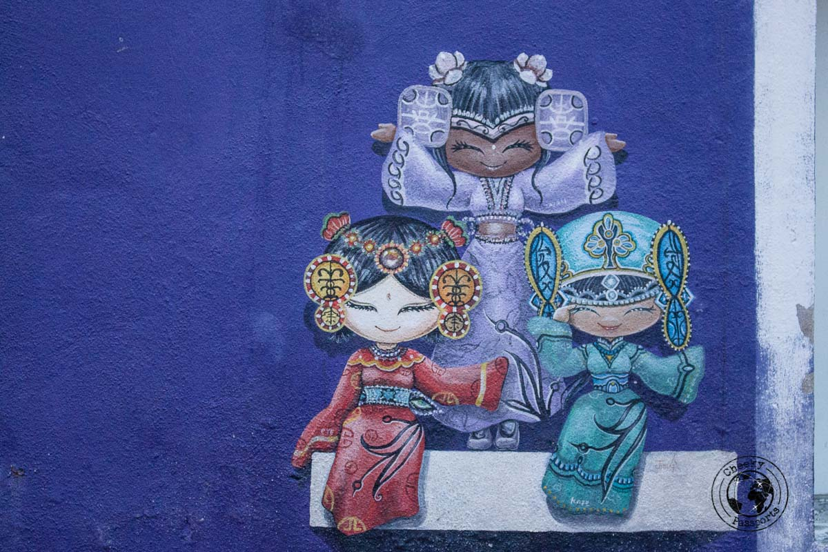 Street Art - things to do in Penang - Malaysia Travel Budget and Expenses