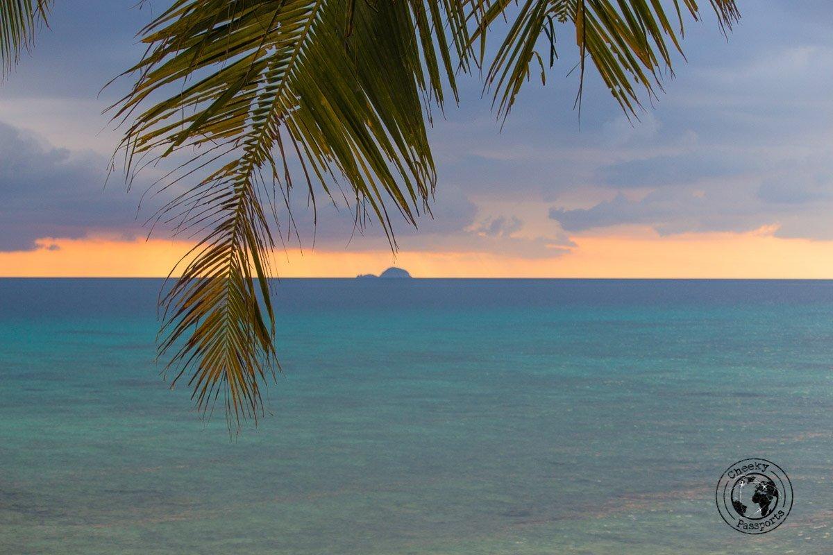 Sunset at ABC - Beaches, Monkeys and Jungle treks on Tioman Island - Pulau Tioman