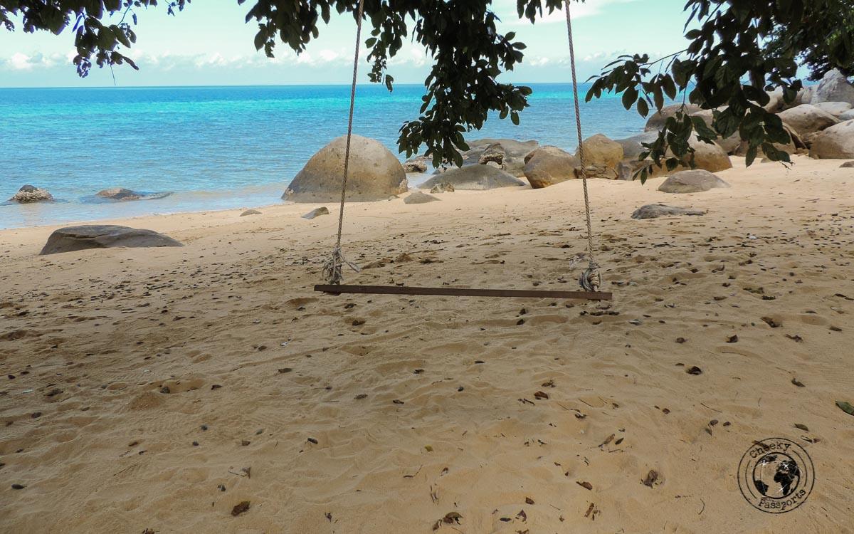 Things to do in tioman island... Swinging on a beach! - Beaches, Monkeys and Jungle treks on Tioman Island - Pulau Tioman