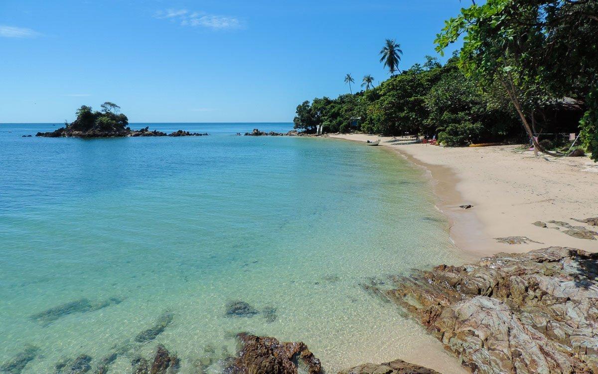 The beach at - Kapas island, Pulau Kapas