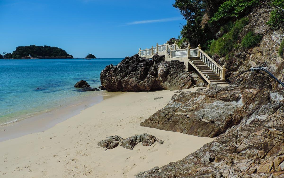 The northern side of - Kapas island, Pulau Kapas