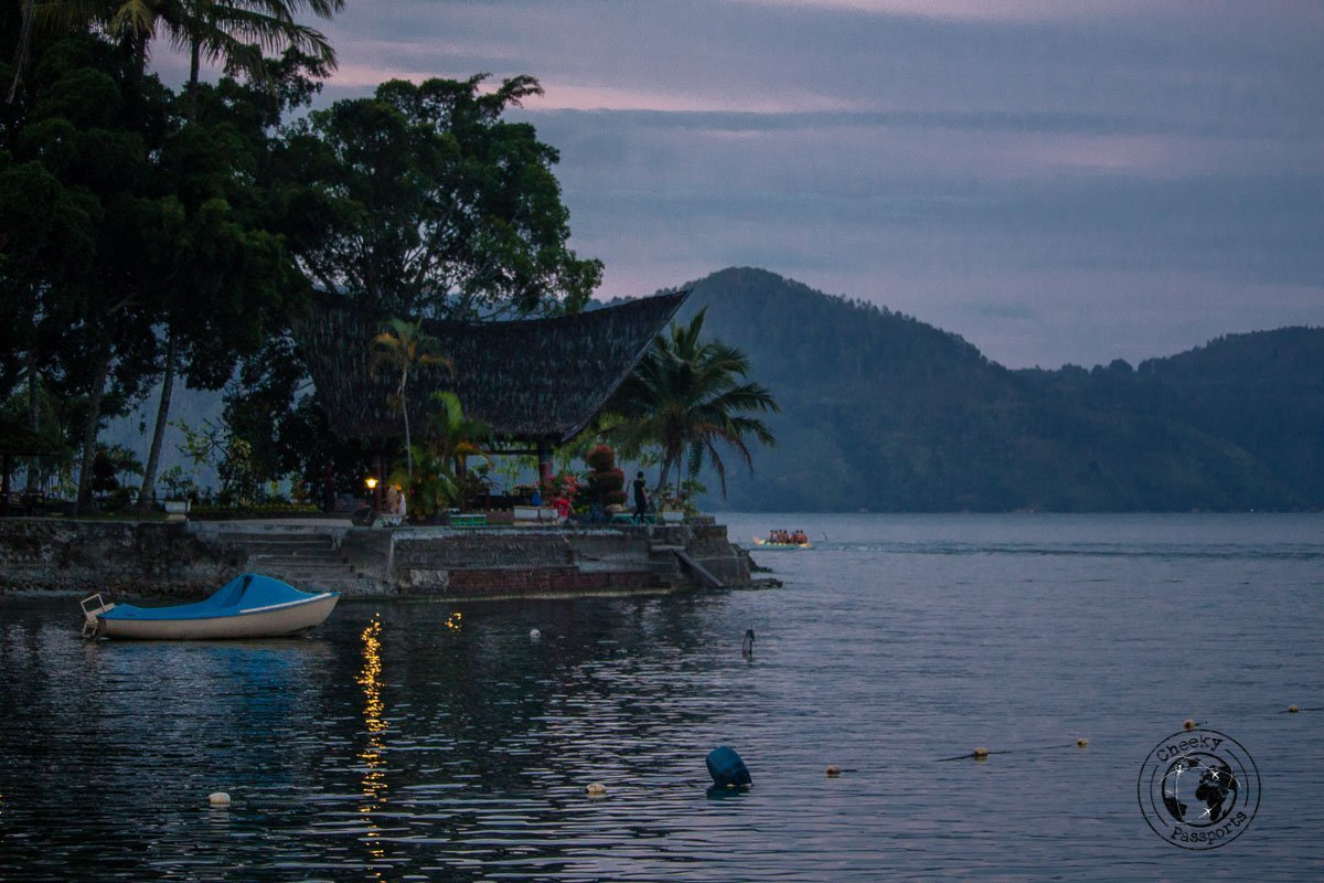A view at Dawn - All about Lake Toba