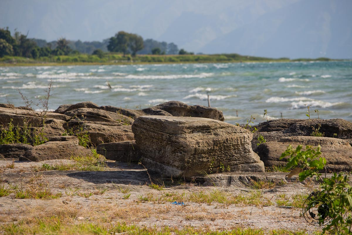 Batu Hoda Beach Rocks - things to do in Lake Toba