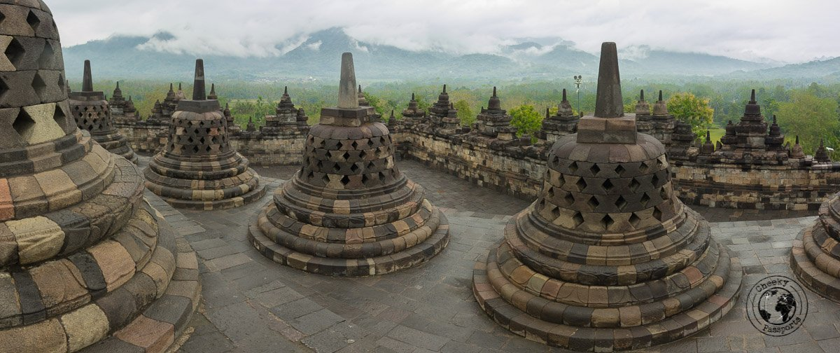 Borobodur Panoramic - Places to visit and what to do in Yogyakarta