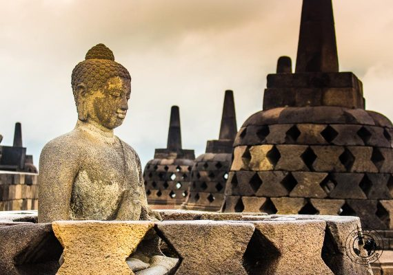 Buddha over Borobodur - Places to visit and what to do in Yogyakarta