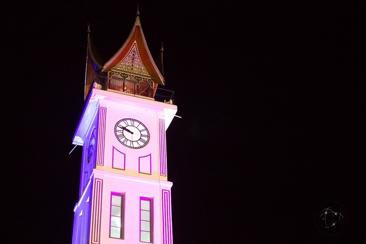 Bukittinggi clock tower - A Mini Guide to Bukittinggi West Sumatra