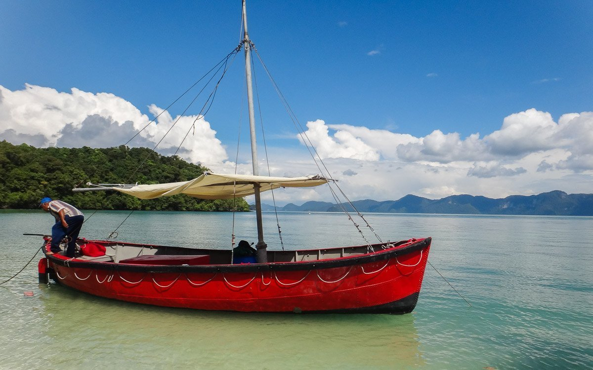 Langkawi red boat - Where to stay in Malaysia