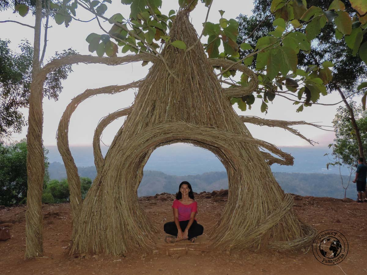 Michelle at Pinus Pengger - Places to visit and things to do in Yogyakarta