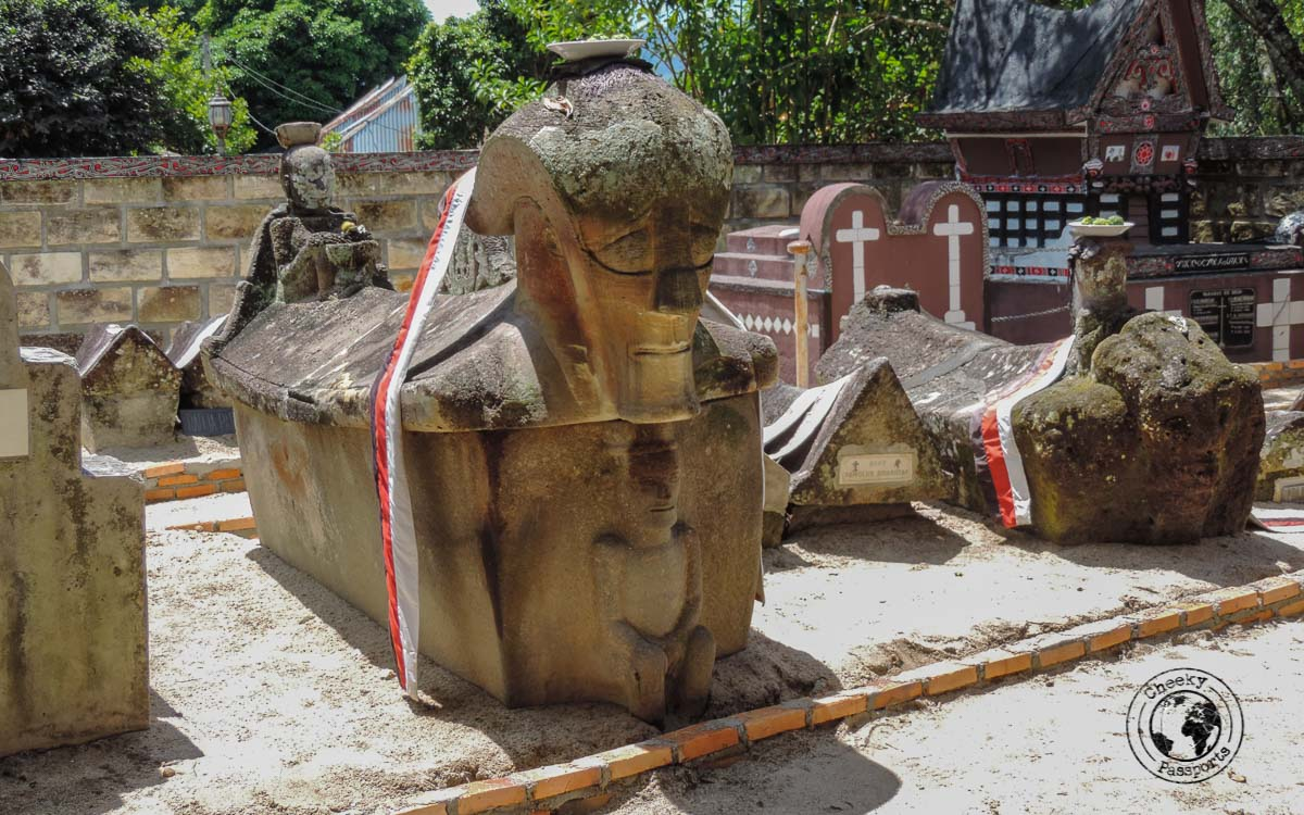 Put Sidabutar's tomb on your list of things to do in Lake Toba