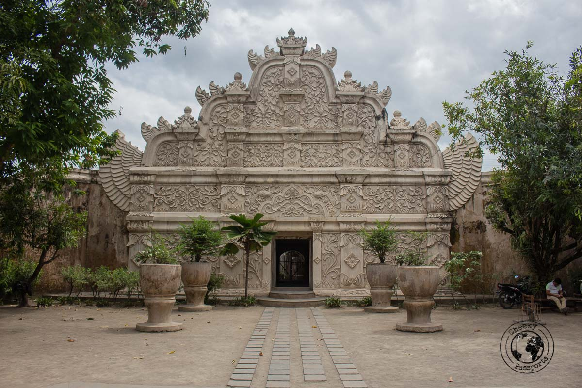 Taman Sari Water Palace Entrance - Places to visit and what to do in Yogyakarta