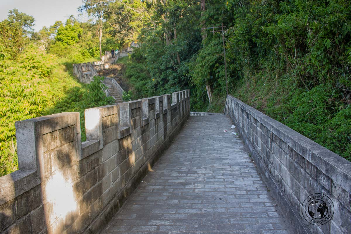 The great wall of Koto Gadang Bukittinggi - things to do in Bukittinggi West Sumatra
