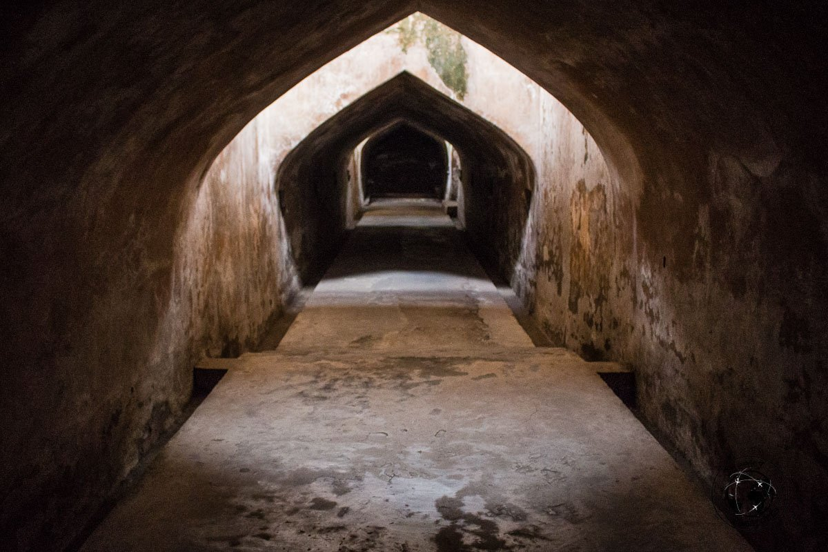 Tunnels at the Taman Sari Underground Mosque - Places to visit and what to do in Yogyakarta