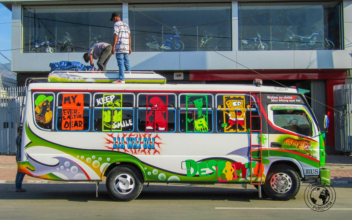 Busses from Dili to Lospalos- How to get to Jaco Island in Timor Leste – a guide