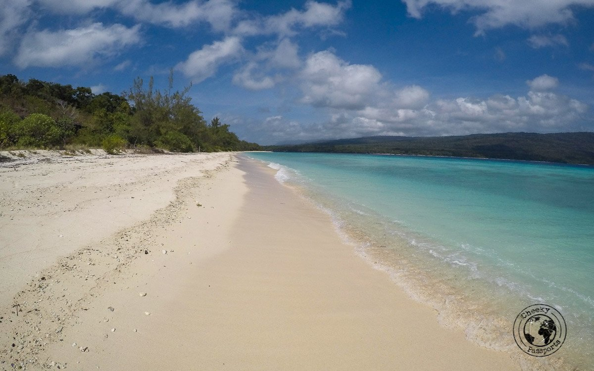 Deserted sands at Jaco Island- How to get to Jaco Island in Timor Leste – a guide