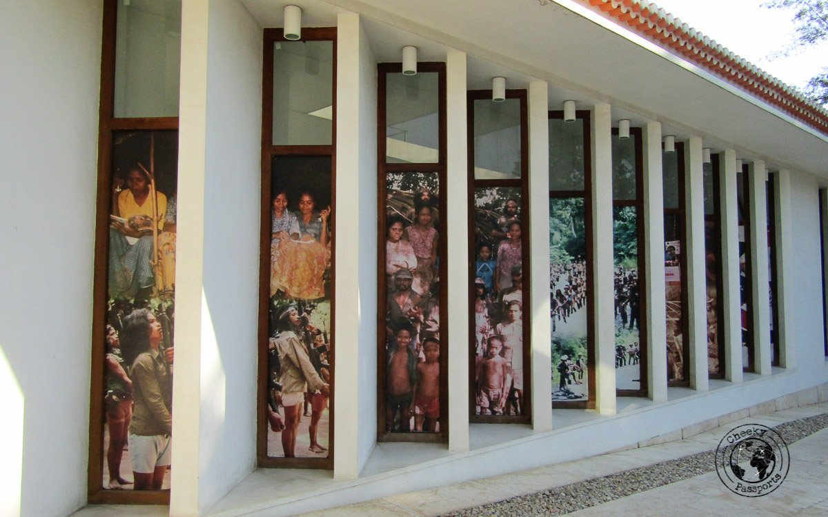 Entrance of the East Timorese Resistance Museum - Things to do in Dili, Timor Leste