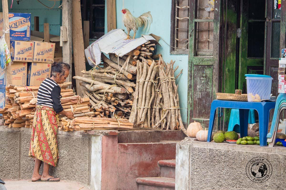 Market in Baucau, Timor Leste