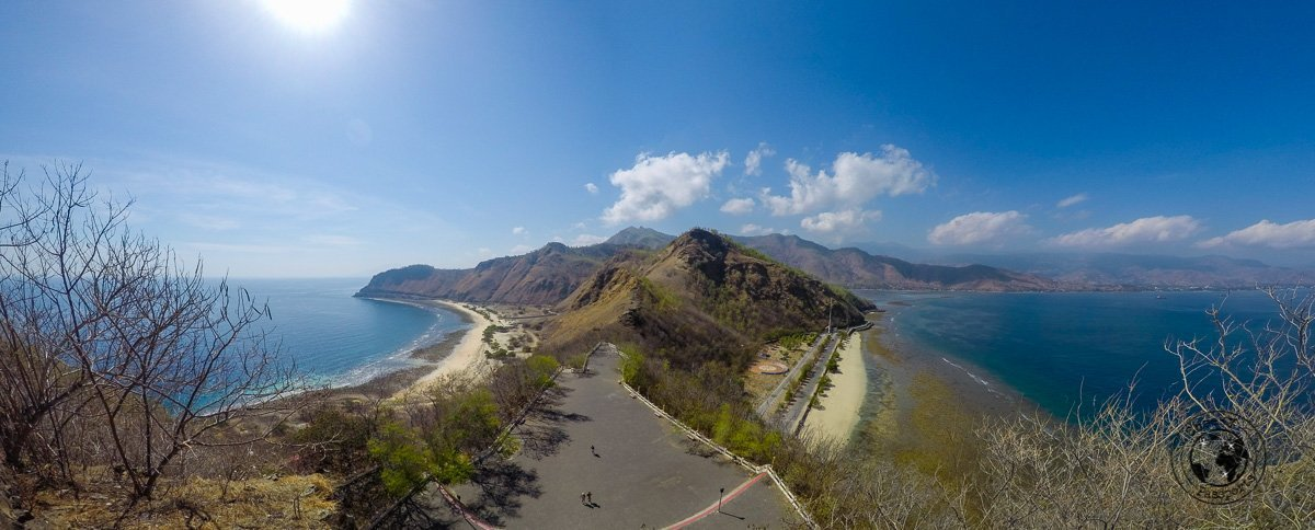 Panoramic view of the Cristo Rei view - Things to do in Dili, Timor Leste - Travel expenses in Timor Leste