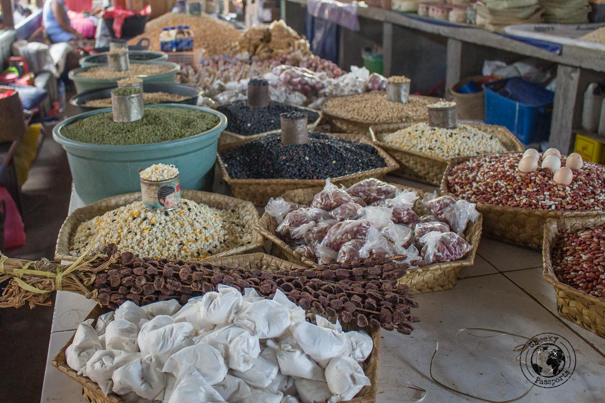 Produce at Taibesi market - What to do in Dili, Timor Leste