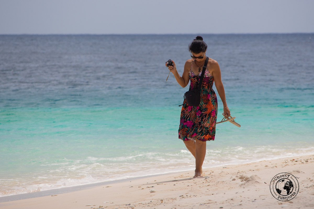 Taking pictures at Jaco Island- How to get to Jaco Island in Timor-Leste – a guide