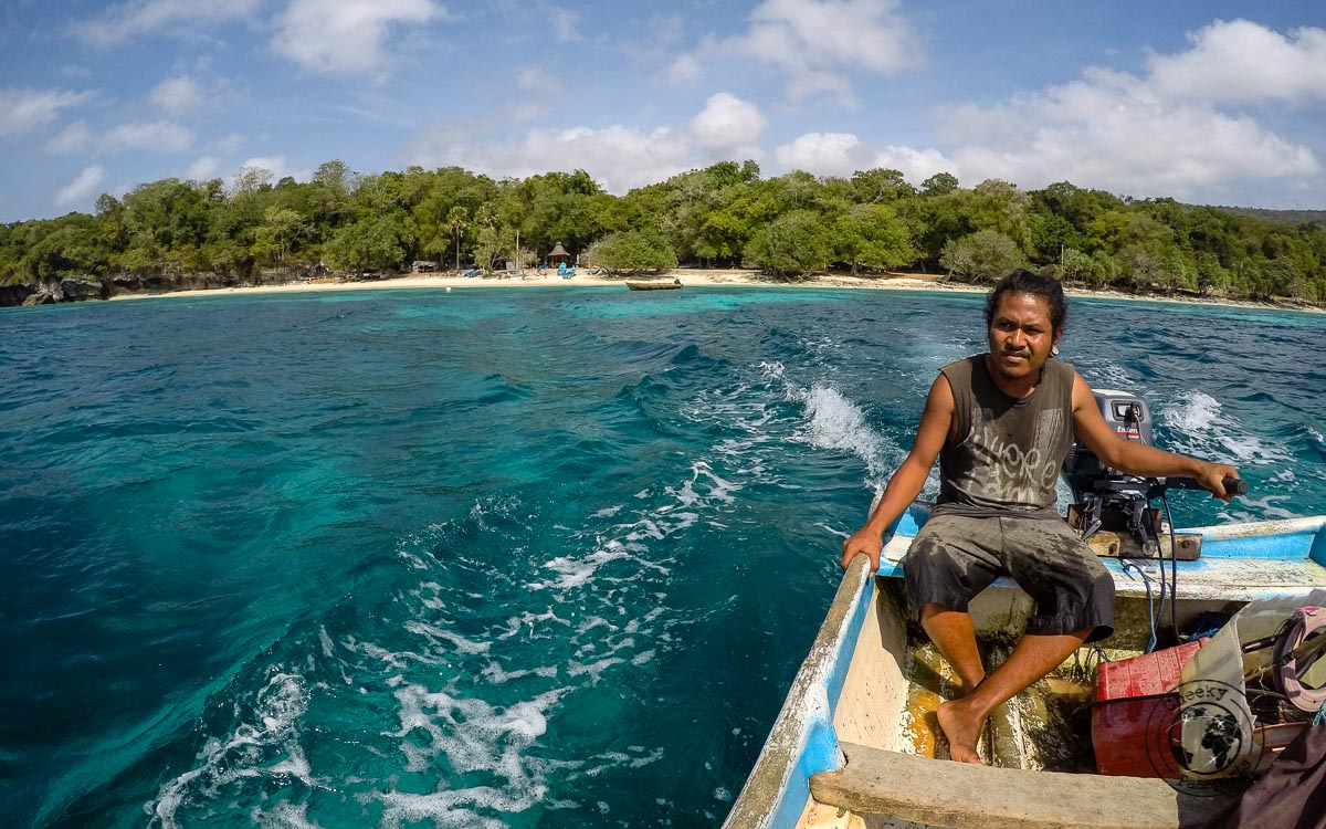 The ferry fisherman's boat to Jaco Island- How to get to Jaco Island in Timor Leste – a guide
