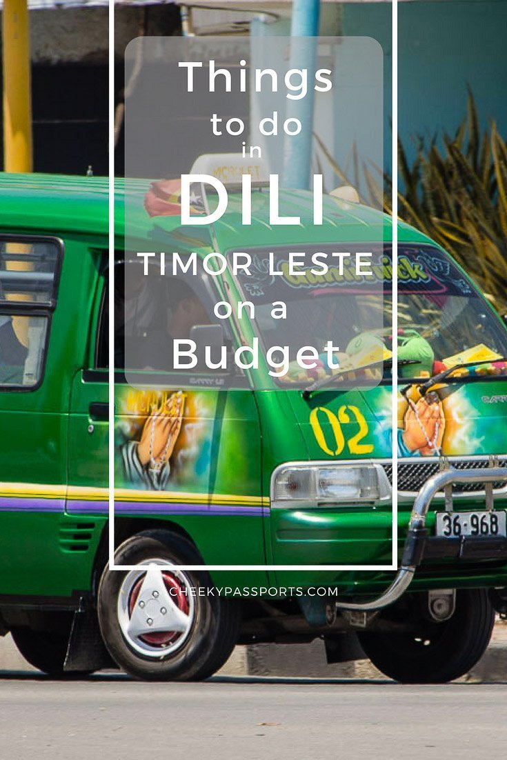 Things to do in Dili, Timor Leste on a budget