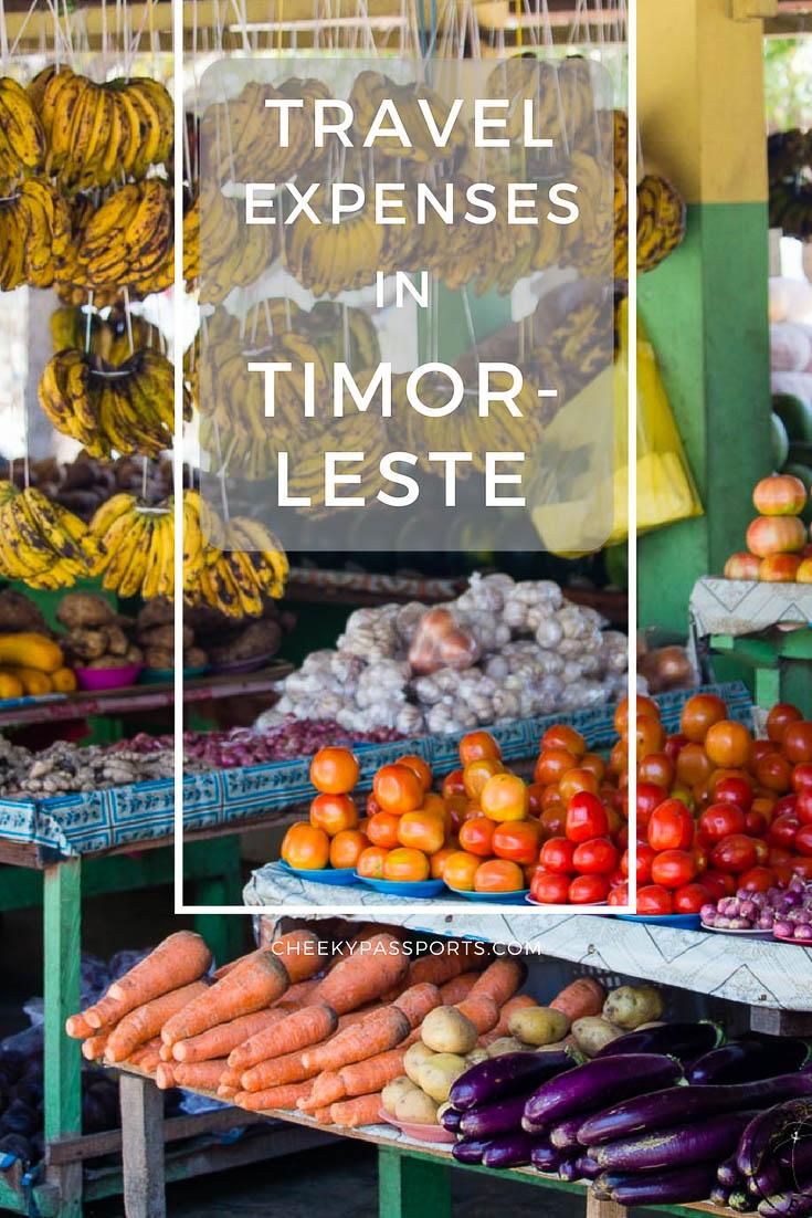 Travel Expenses in Timor-Leste. East-Timor travel advice