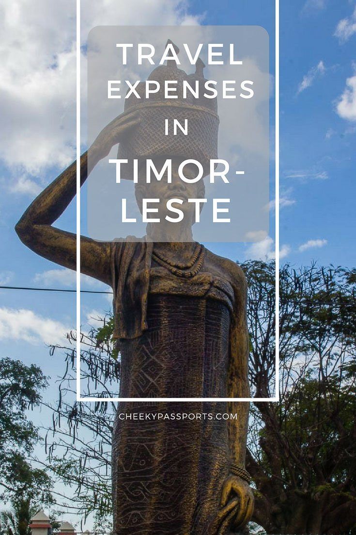 Travel Expenses in Timor-Leste. What it cost us to travel to East Timor on a budget and other Timor-Leste travel advice
