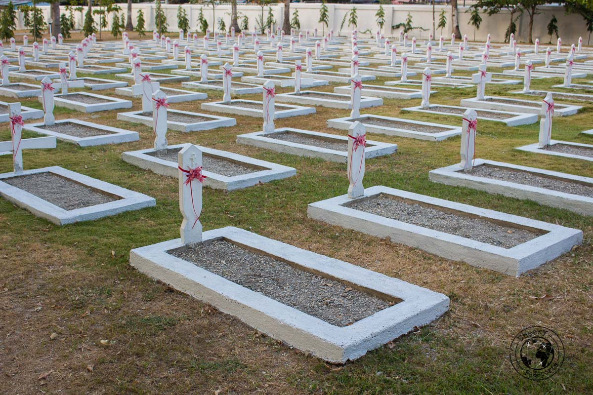 uniform graves at the Santa Cruz Cemetery - What to do in Dili, Timor Leste