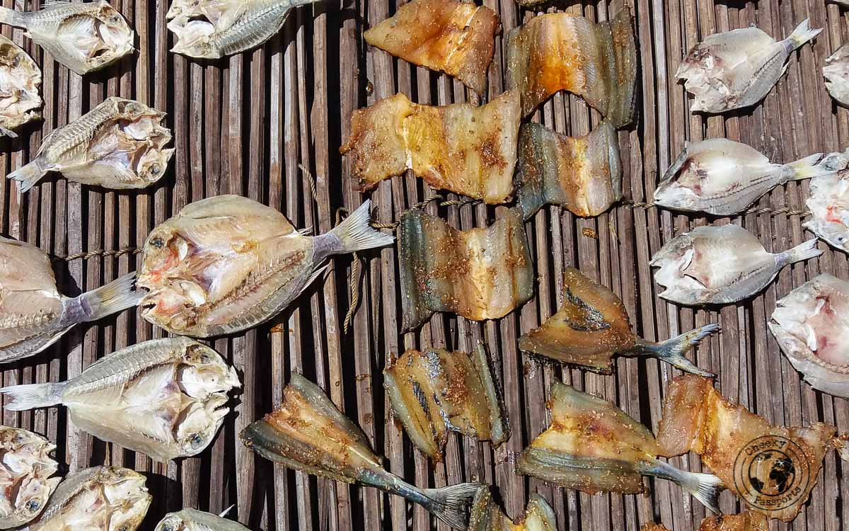 Dried fish - All about travelling in Karimunjawa