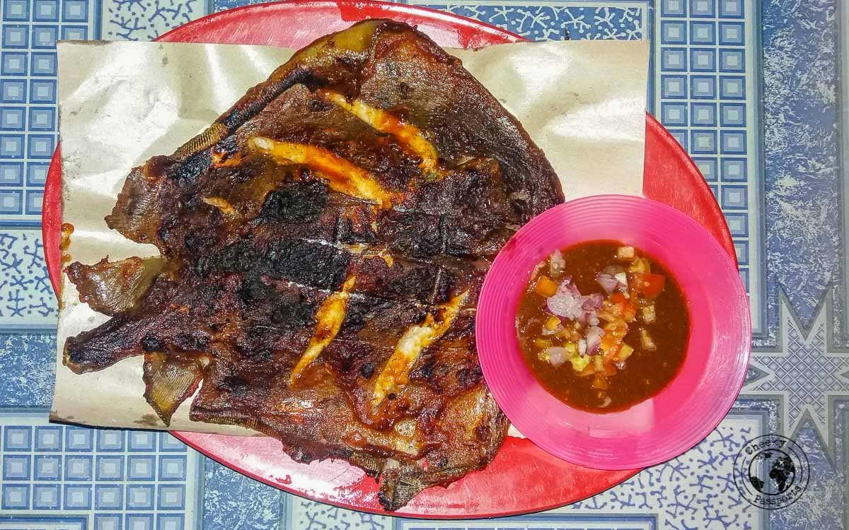 Grilled Sting ray - Karimunjawa Islands Travel Guide and Information