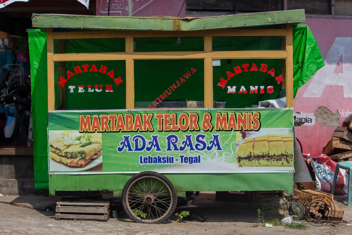 Martabak and Terang Bulan Stall - All about traveling to Karimunjawa Island in Java Indonesia